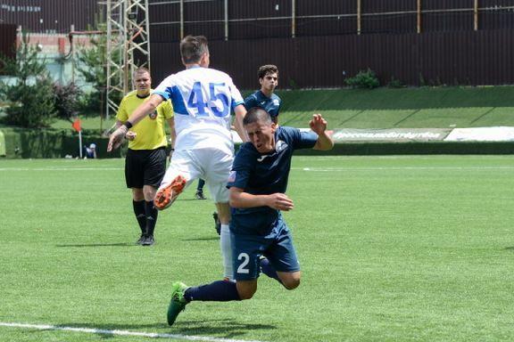 Футболисты ТГУ одержали первую победу в финале студенческой лиги