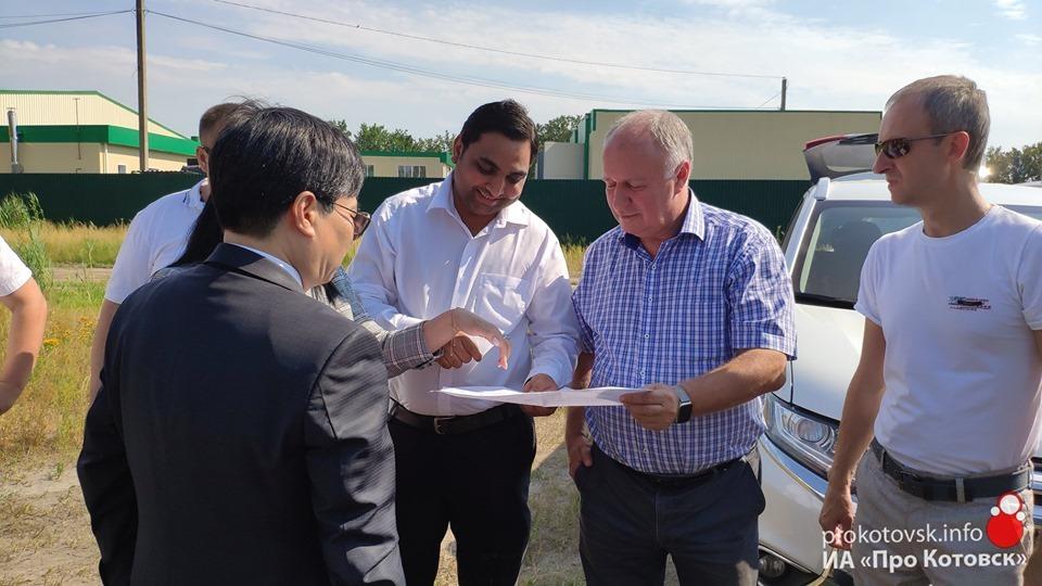 Индийский резидент ТОСЭР «Котовск» Пиюш Васойя продолжает работу над реализацией проекта
