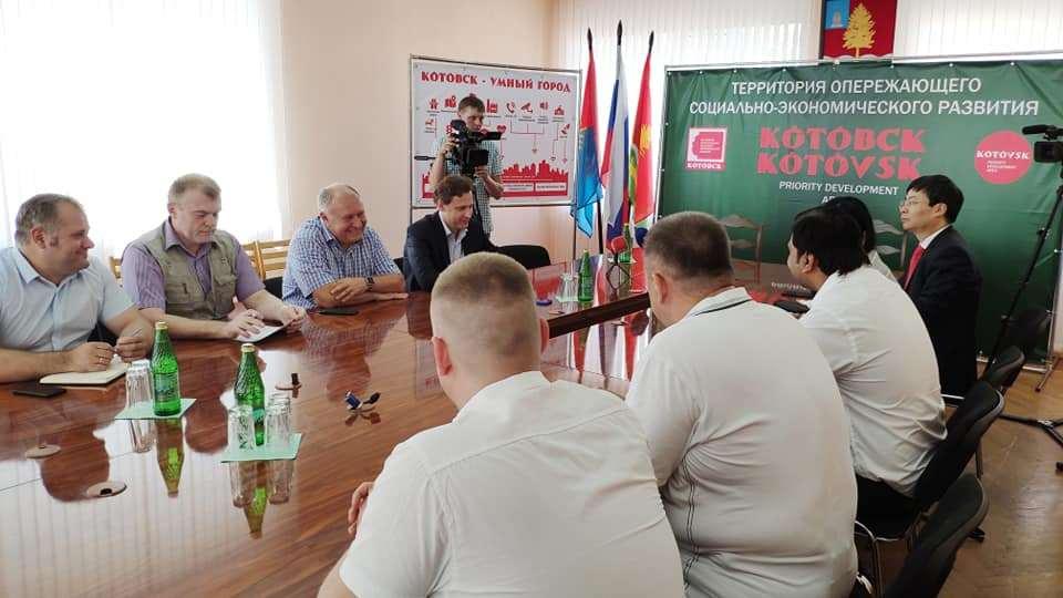 В Котовске состоялась презентация проекта производства хлопковой целлюлозы