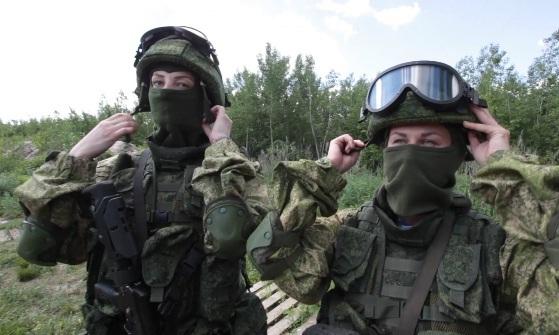 В тамбовской женской бригаде спецназа начались учения