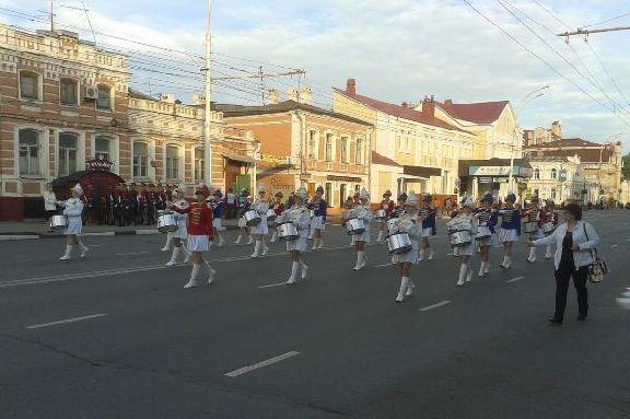 В центре Тамбова во время фестиваля духовых оркестров перекроют дорожное движение