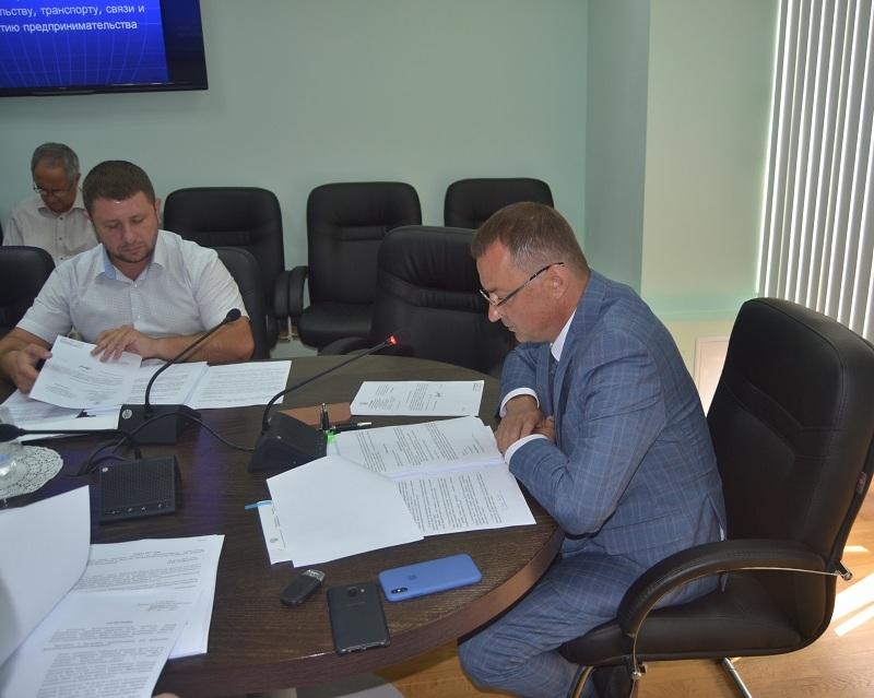 Депутаты областной Думы обсудили вопросы работы транспорта