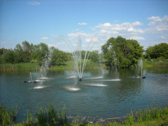 На Цне снова заработают речные фонтаны
