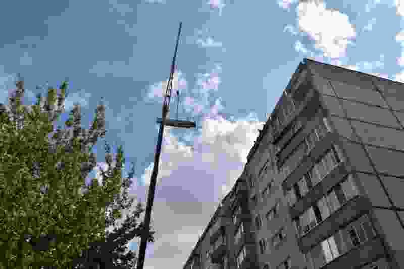 Прокуратура начала проверку после обрушения бетонного перекрытия на крыше многоэтажки в Тамбове