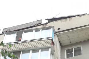 СКначал проверку пофакту обрушения крыши втамбовской многоэтажке