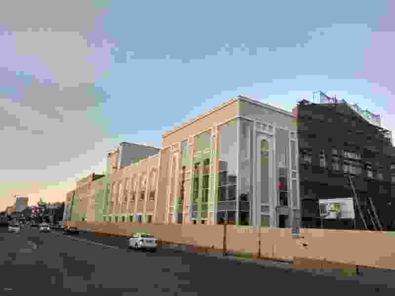 Строительство филармонии в Тамбове опять затянулось, потому что подрядчик на полпути изменил проект