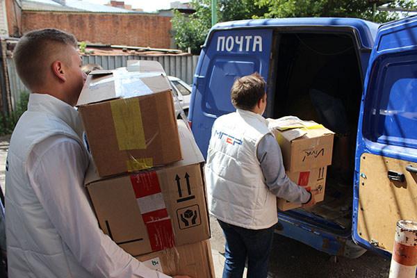 Тамбовчане отправили две тонны гуманитарной помощи для пострадавших от наводнения
