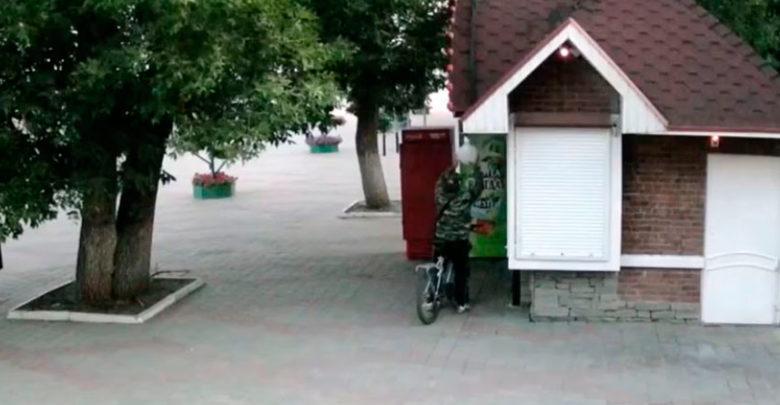 В городском Парке культуры Тамбова объявился пожилой похититель лампочек уличного освещения