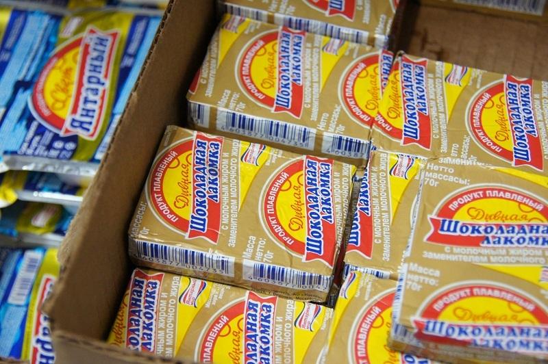 В ряде тамбовских магазинов не нашлось отдельных полок для молочной продукции и её суррогатов