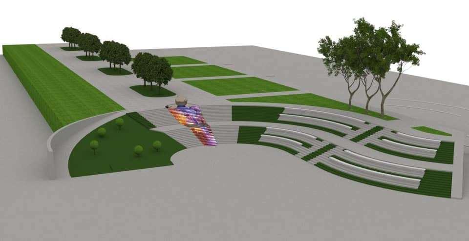 В следующем году начнётся ремонт спуска из Парка культуры на Набережную Тамбова