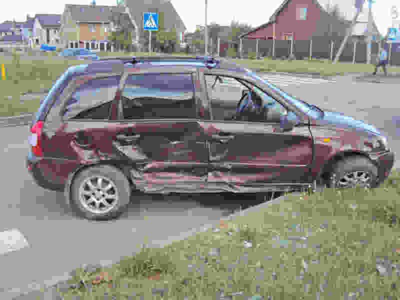 В Тамбове при столкновении двух машин пострадала пожилая женщина
