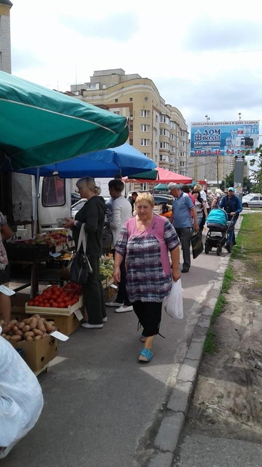 В Тамбове продолжается борьба с незаконной торговлей