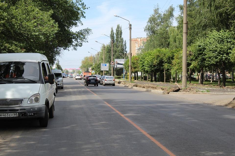 В Тамбове проверили, как ремонтируются городские дороги