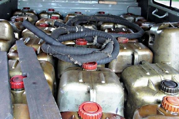 В Тамбовской области машинист слил с тепловоза 400 литров солярки