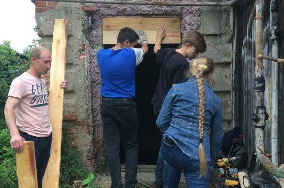 Волонтёры провели консервацию дома коллекционера Никифорова в Тамбове