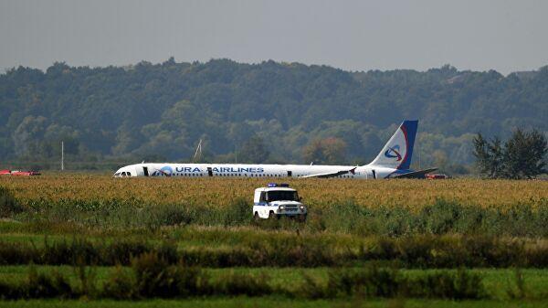 В результате аварийной посадки самолета «Уральских авиалиний» пострадали дети из Тамбова