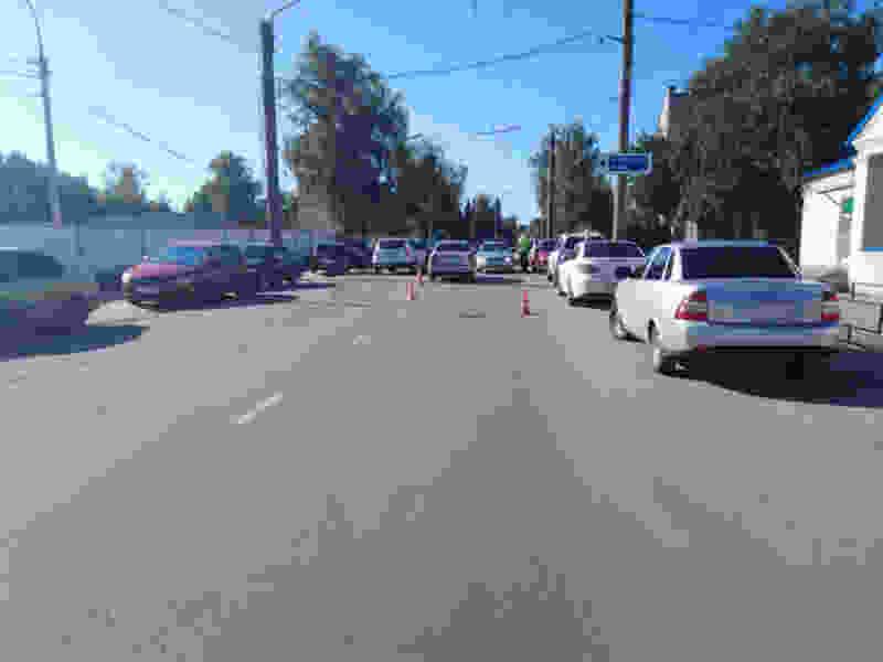 В Тамбове иномарка сбила пятилетнего мальчика, который выбежал на дорогу