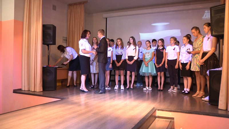 В Тамбове школьники получили свои первые паспорта