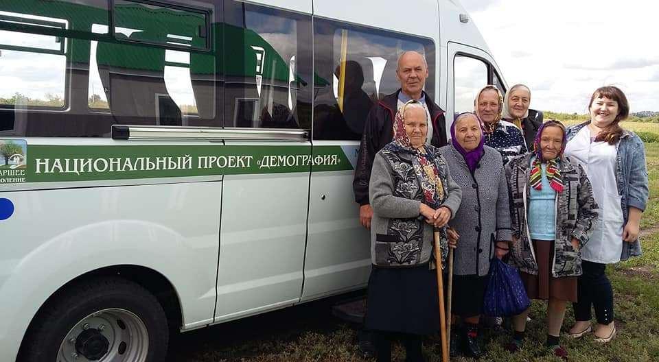 В Тамбовской области начали работать мобильные бригады для пенсионеров