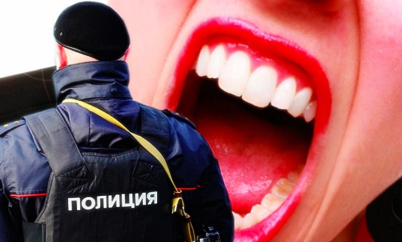 В Тамбовской области осудили женщину, которая укусила полицейского