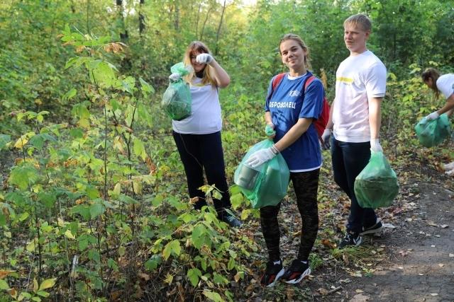50 кг мусора собрал победитель первого в истории Тамбова плоггинг-забега