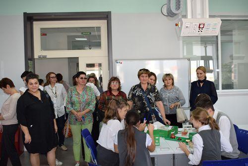Делегация из Волгоградской области посетила МАОУ СОШ №1 - «Школа Сколково-Тамбов»