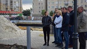 Глава города Наталия Макаревич провела объезд города