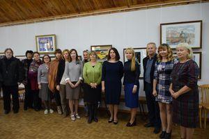 Глава Тамбова Наталия Макаревич посетила детскую художественную школу №1