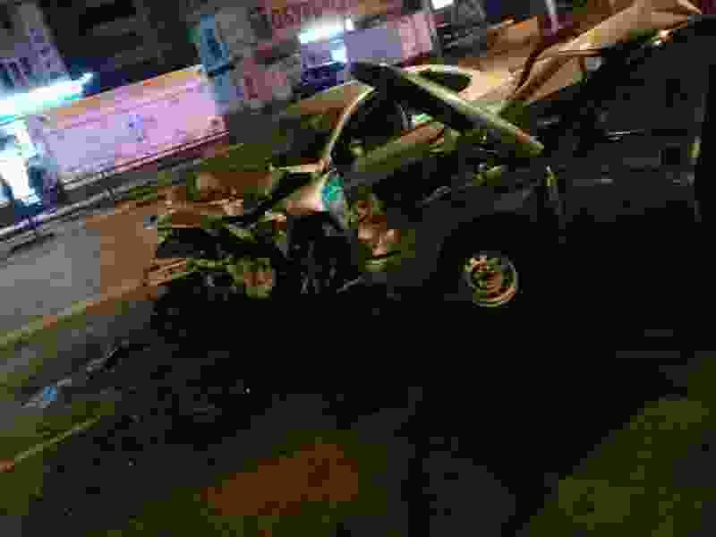 На севере Тамбова столкнулись две легковушки: пассажир в коме
