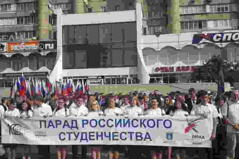 На время проведения парада студентов в Тамбове перекроют центральные улицы