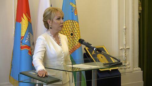Наталия Макаревич принесла присягу главы города Тамбова