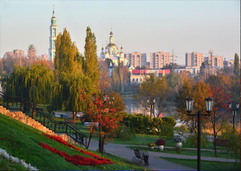 Осень окончательно утверждается в Тамбове