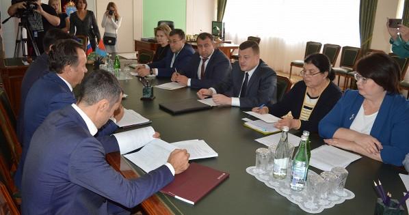 Председатель ЦЧБСбербанка Владимир Салмин встретился сглавой администрации Тамбовской области
