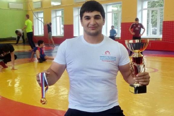 Тамбовский борец вошёл в состав сборной России по борьбе на поясах