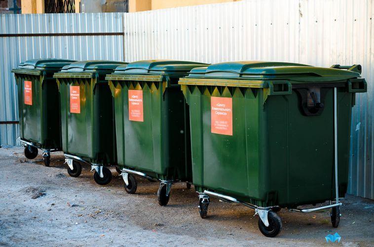 У учреждения в Тамбовской области украли мусорные контейнеры