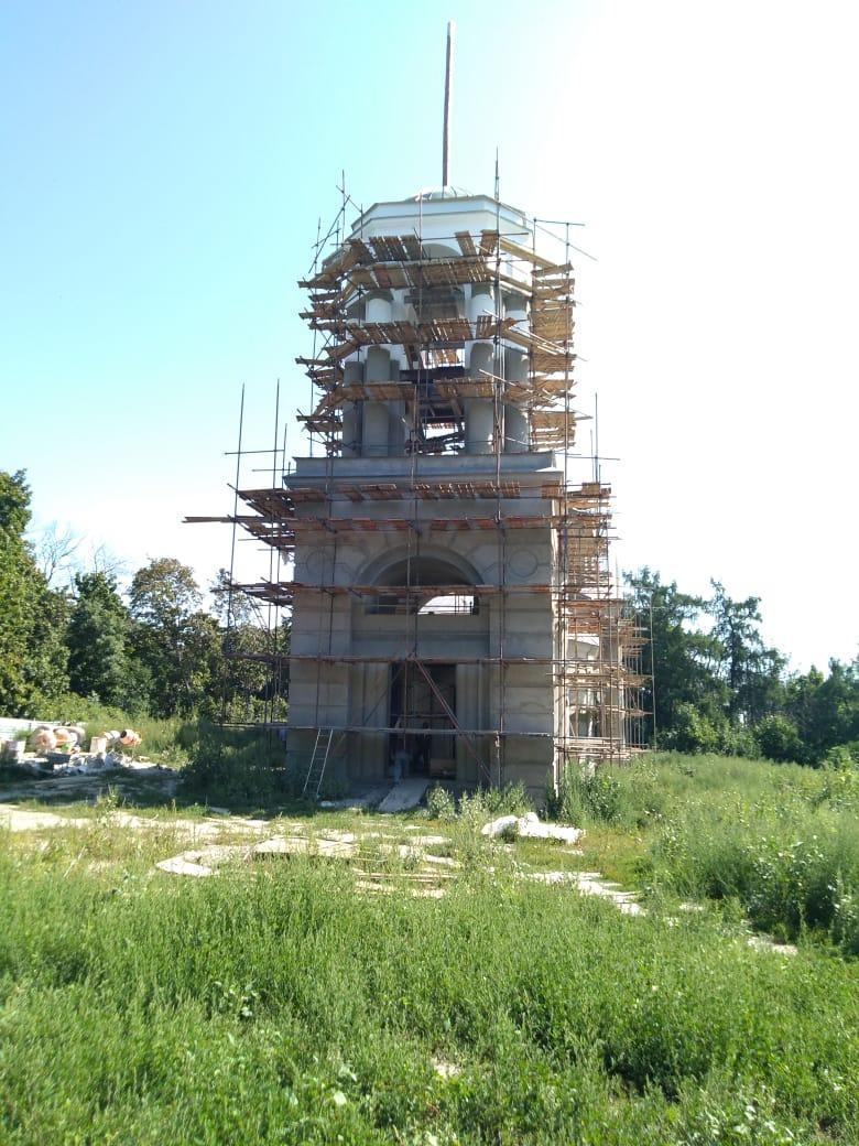 В Инжавинском районе реставрируют Свято-Троицкую церковь