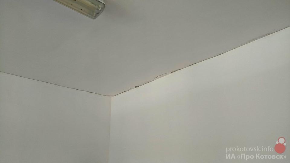 В одном из корпусов школы №3 Котовска ведутся работы по усилению перекрытий здания