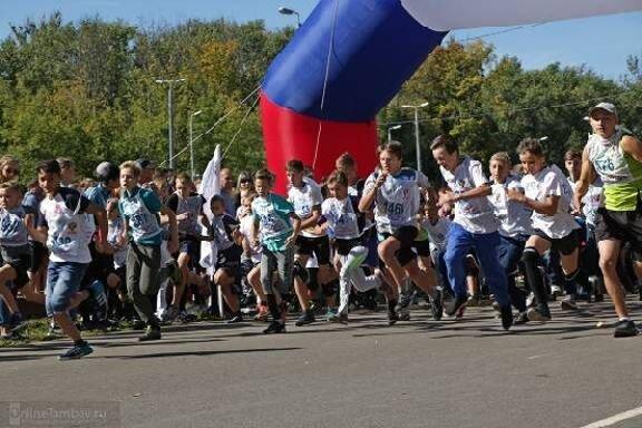 """В Тамбове """"Кросс нации"""" пробежали только спортсмены"""