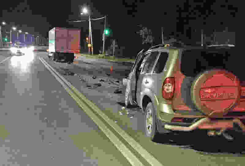 В Тамбовском районе легковушка врезалась в «ГАЗель»: водитель в больнице