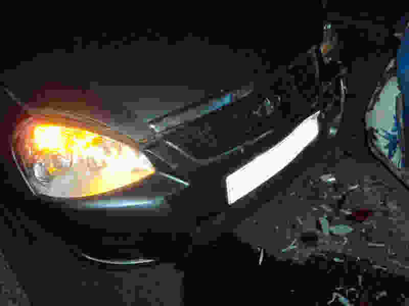 Водитель Приоры спровоцировал тройное ДТП в Тамбове