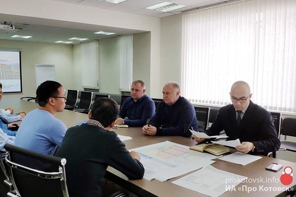 Глава Котовска встретился с поставщиками спецоборудования из Китая