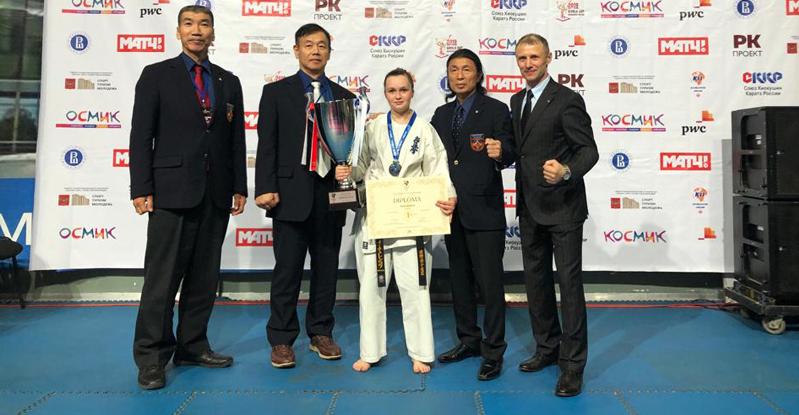 Каратистка из Мичуринска завоевала золото VI Международного Кубка Мира по кёкусинкай каратэ