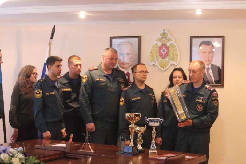 Тамбовская пожарная лаборатория признана лучшей в ЦФО