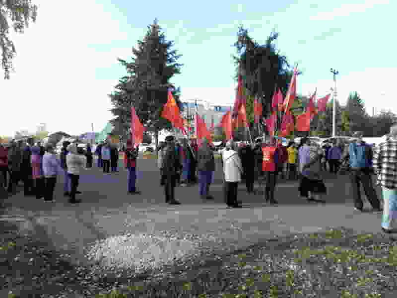 Тамбовские коммунисты ездят по региону с акциями протестов против титанового месторождения и крупного экотехнопарка в регионе