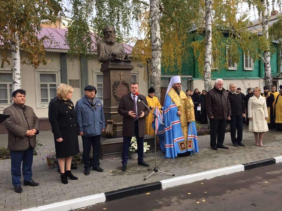 Улицу имени Архиепископа Луки официально открыли в Тамбове