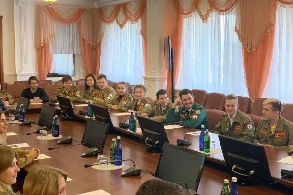 В администрации области выбрали регионального Председателя Российских студенческих отрядов