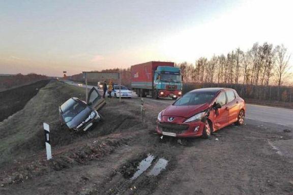 В ДТП на территории Знаменского района пострадала девушка