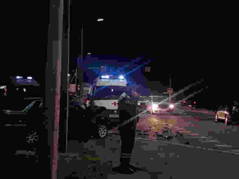 В пригороде Тамбова в районе МНТК при столкновении двух легковушек пострадали трое взрослых и ребёнок