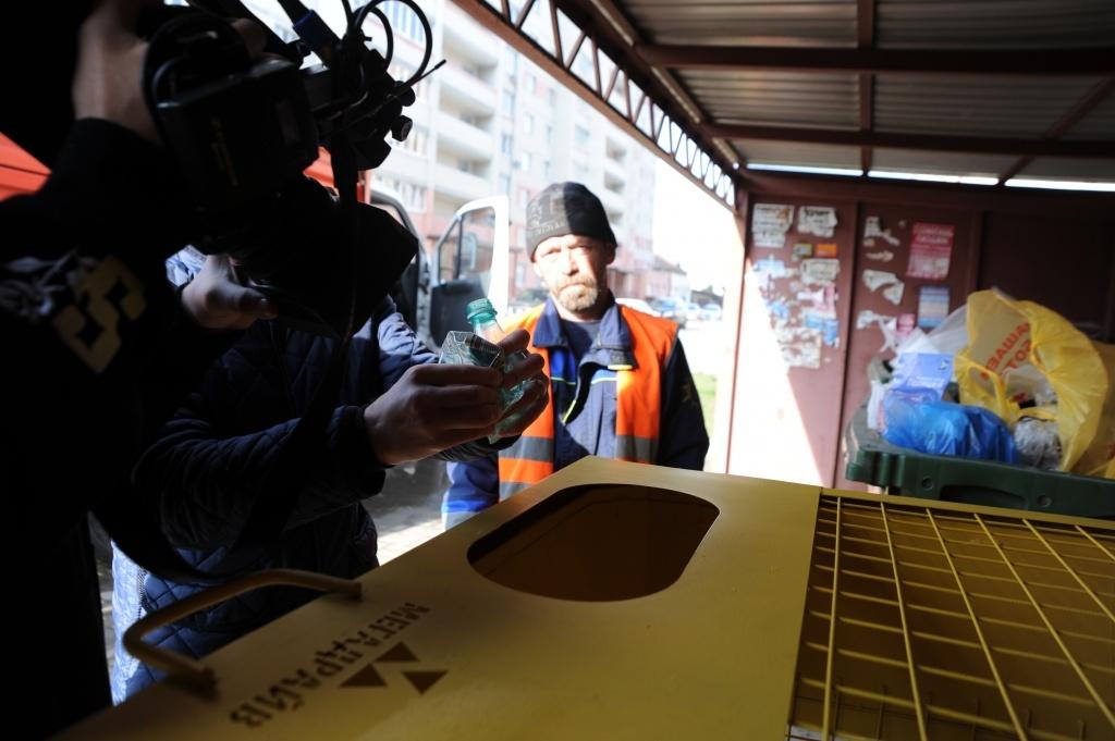 В Тамбове продолжается работа над раздельным сбором мусора