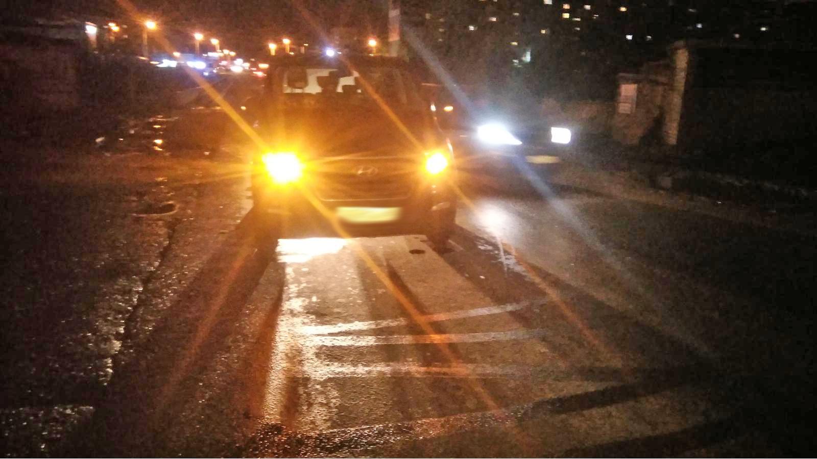 В Тамбове за выходные сбили двух пешеходов